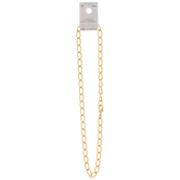 10K Gold Plated Chunky Chain Necklace