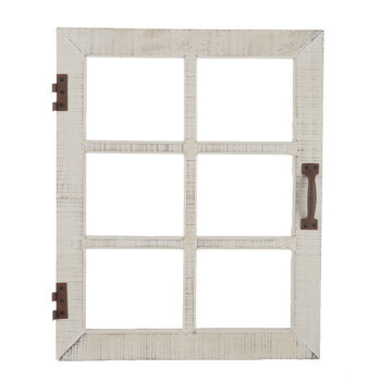 Window Wood Wall Decor