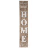 Welcome To Our Home Wood Wall Decor