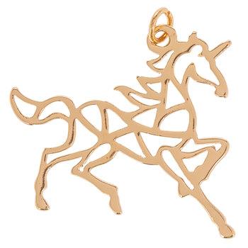 Unicorn Cutout Charm