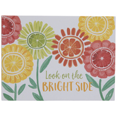 Look On The Bright Side Wood Decor