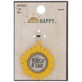 Be Bright Sunflower Pendant