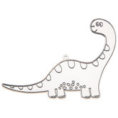 Brontosaurus Suncatcher