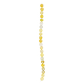 Dyed Agate Round Bead Strand