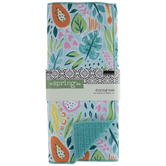 Tropical Floral Drying Mat
