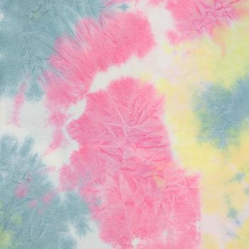 Tie Dye Span Knit Fabric