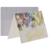 Shiplap Floral Thank You Cards
