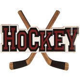 Hockey Metal Sign