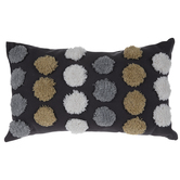 Polka Dot Tufted Pillow