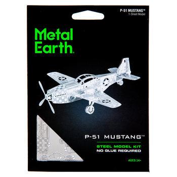 P-51 Mustang Metal Earth 3D Model Kit