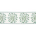 Merry & Bright Wreath Wired Edge Ribbon - 2 1/2