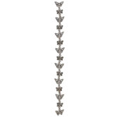 Butterfly & Round Spacer Bead Strand