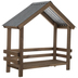 Nativity Wood Stable