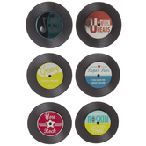 Records 3D Stickers