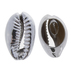 Shell Metal Plated Beads