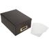 Black & Gold Foil Polka Dot Photo Storage Box