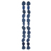 Blue Dyed Agate Bead Strands