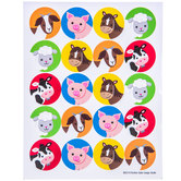 Barnyard Birthday Envelope Seals