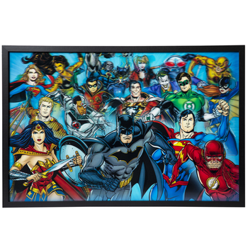 DC Superheroes Lenticular Wall Decor