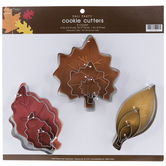 Leaves Metal Cookie Cutters