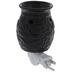 Black Scroll Fragrance Warmer