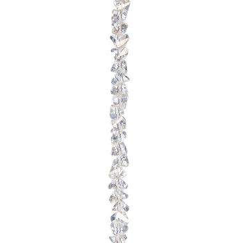 Triangle Cut Glass Bead Strand