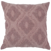 Blush Tufted Trellis Pillow Cover