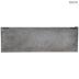 Corrugated Galvanized Metal Wall Shelf - Large