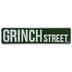 Grinch Street Metal Sign