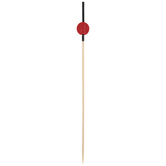 Red Dot Bamboo Skewers