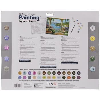 Silver Lake Veranda Paint By Number Kit