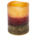 Layered LED Pillar Candle - 3
