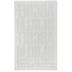 White Block Flocked Iron-On Applique Alphabet - 2