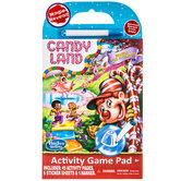 Candy Land Magic Reveal Game Activity Pad