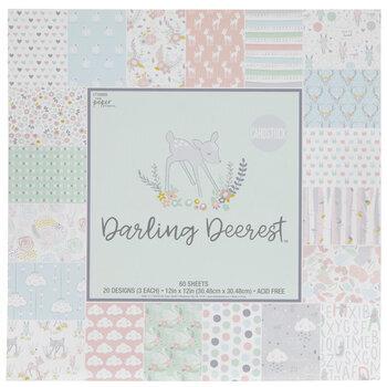 Darling Deerest Cardstock Paper Pack
