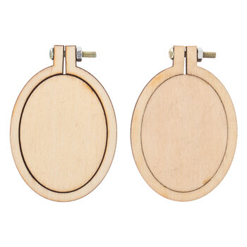 Wood Oval Frames