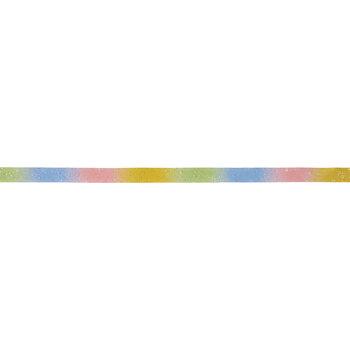 Rainbow Ombre Glitter Ribbon