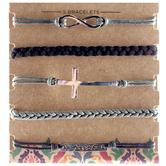 Black & Gray Bracelets