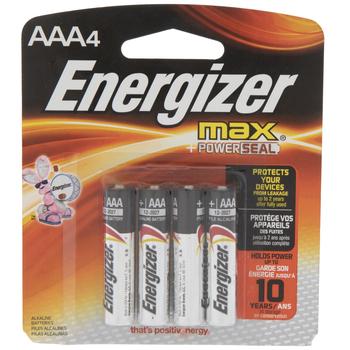 MAX Power Seal Batteries - AAA