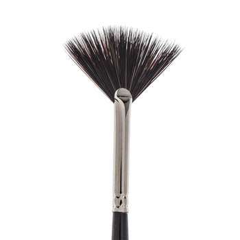 Synthetic Squirrel Fan Paint Brush - Size 1