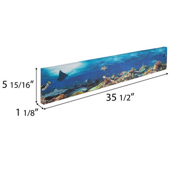 Ocean Reef Canvas Wall Decor