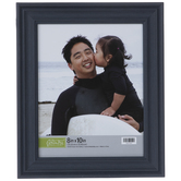 Navy Beveled Wall Frame