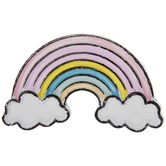 Pastel Rainbow Metal Knob