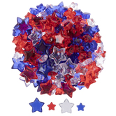 Red, Clear & Blue Star Filler