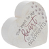 Paved In Pawprints Heart Wood Decor