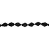 Black Pom Pom Ribbon - 5/8