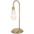 Gold Metal Fairy Light Lamp