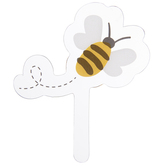 Bee Cupcake Toppers