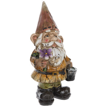 Red Hat Gnome With Flower