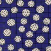 Volleyballs Fleece Fabric